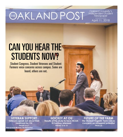 4b17e3f00096 The Oakland Post 4.11.18 by The Oakland Post - issuu