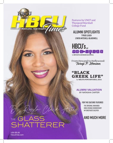 93f7eb9333 HBCU Times Spring Edition by HBCU Times - issuu