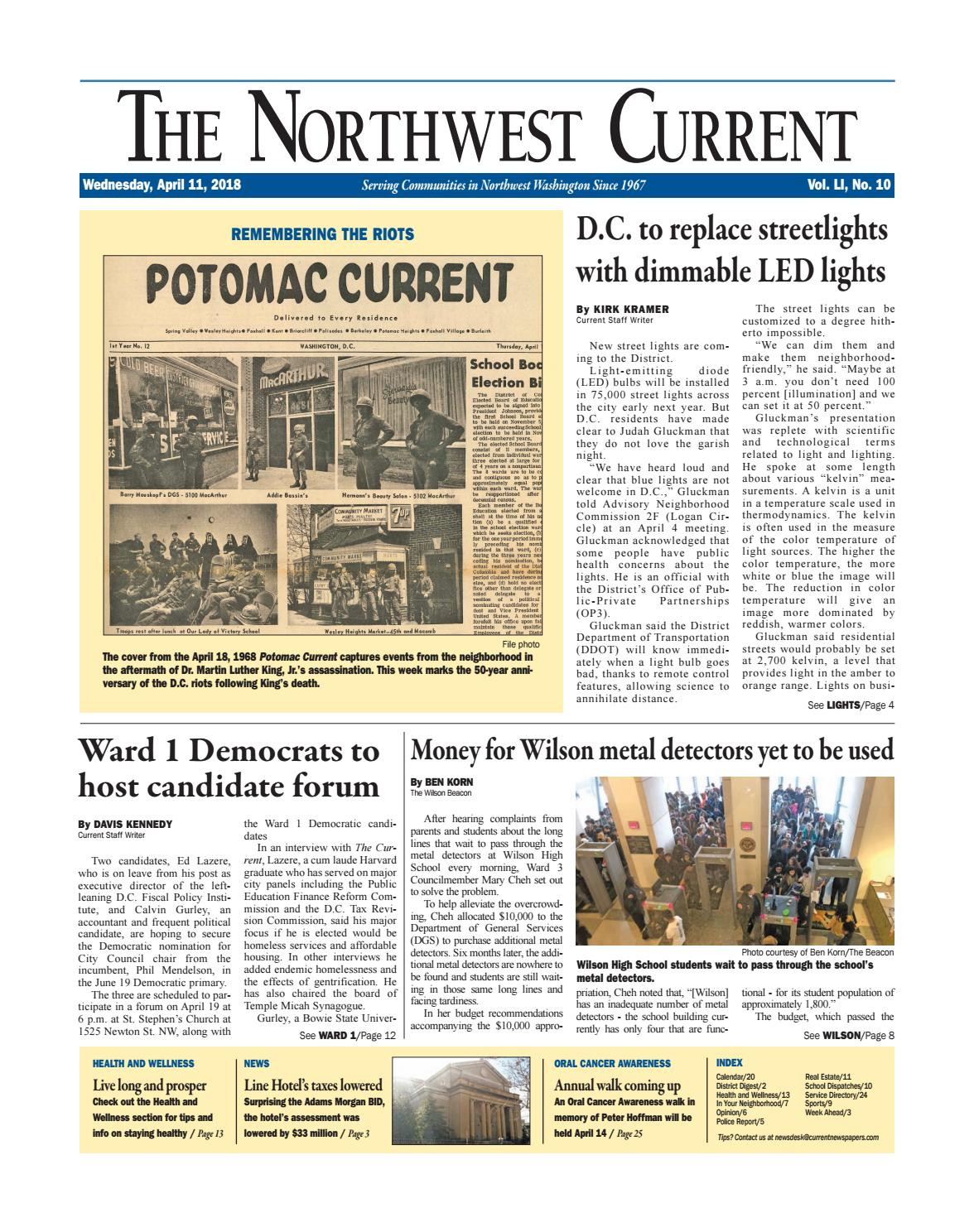 Nw current 4 11 18 by Current Newspapers - issuu