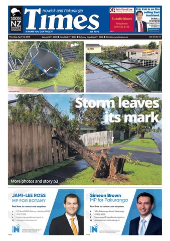 Howick And Pakuranga Times April 12