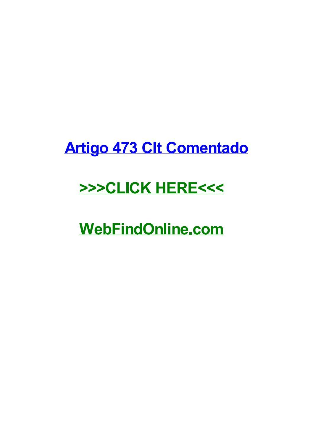 Artigo 486 Da Clt Comentado