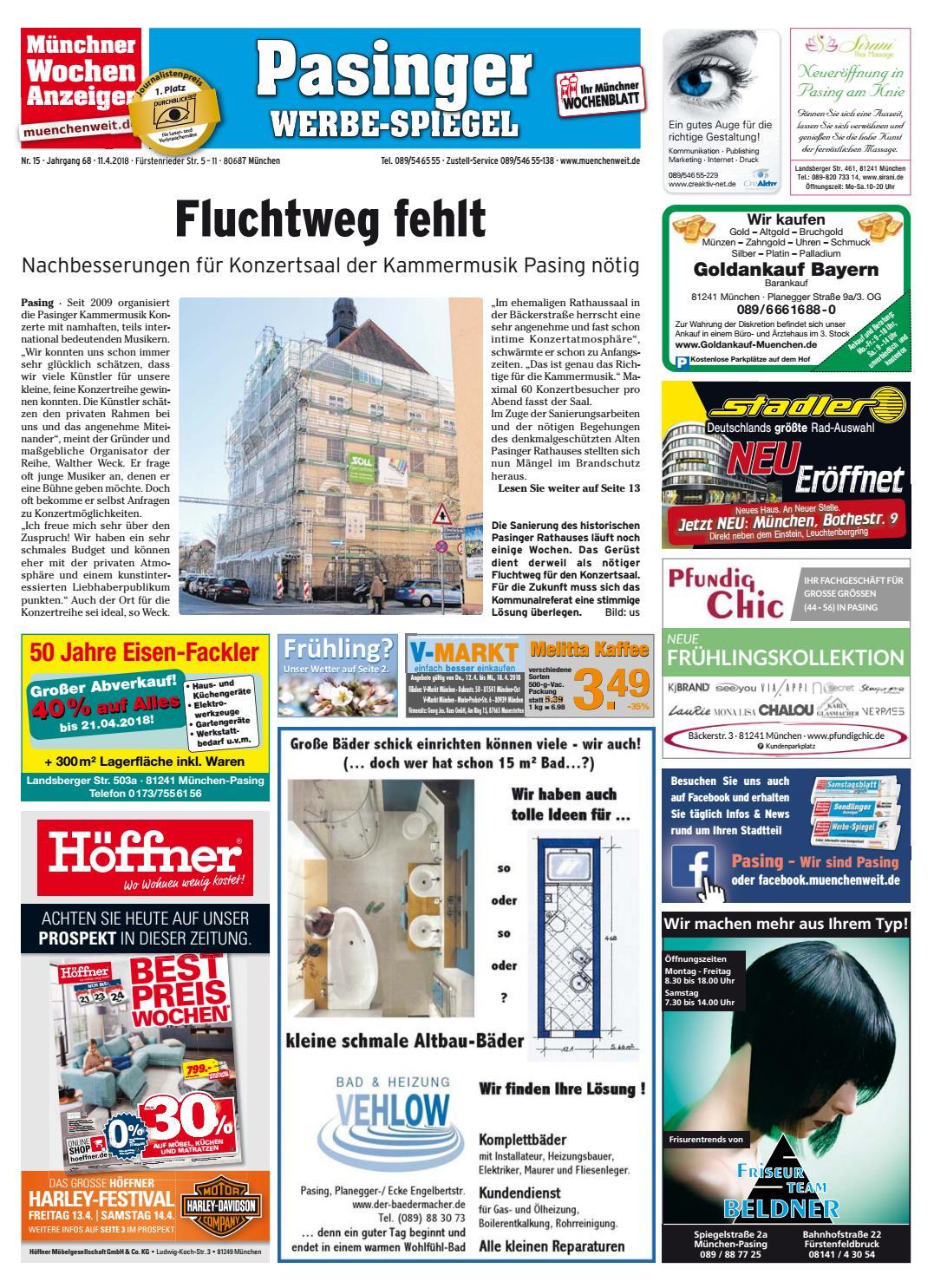 eef6022a046d99 KW 15-2018 by Wochenanzeiger Medien GmbH - issuu