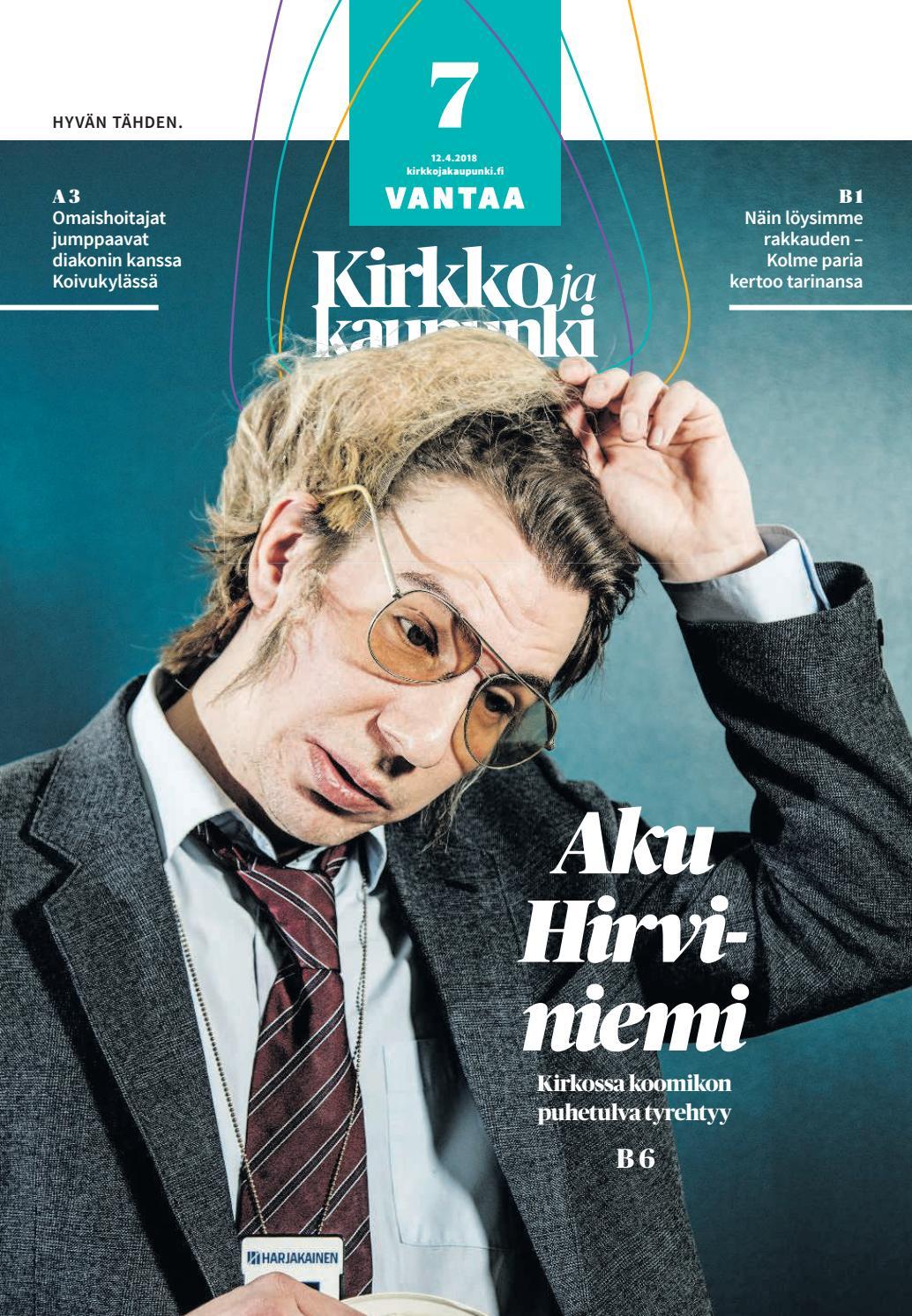 Kirkko ja kaupunki 2018 07 vantaa by Kirkko ja kaupunki - Issuu