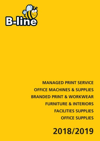 5fc0cbae0c B-Line Everyday Catalogue 2018 by B-Line Business Supplies - issuu