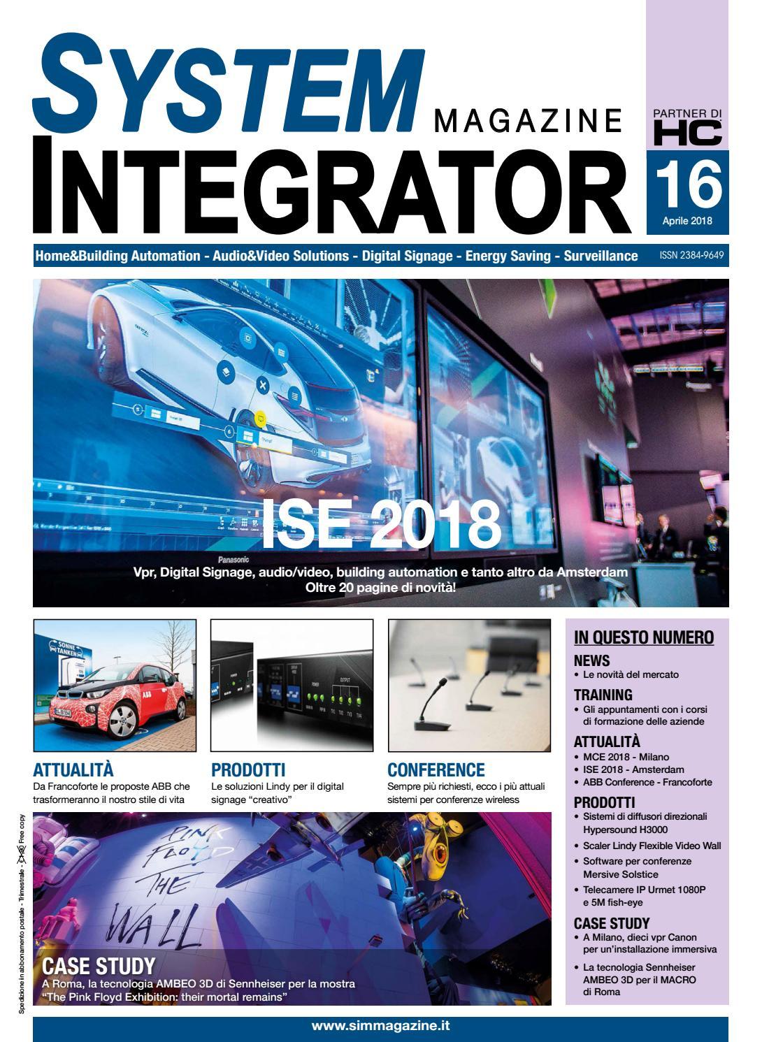 System Integrator Magazine #16 by SIM System Integrator
