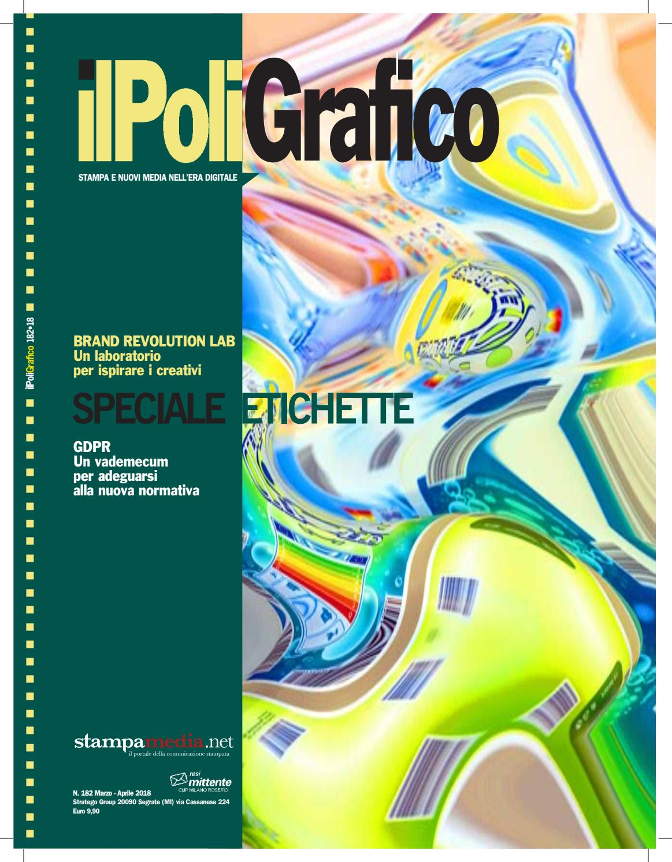 1c47c79da2 Il Poligrafico, n. 182, Marzo - Aprile 2018 by Stratego Group Srl - issuu
