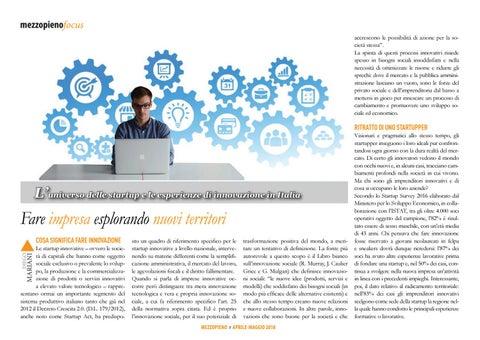 Page 8 of FARE IMPRESA INNOVATIVA CON UN'OPZIONE POSITIVA