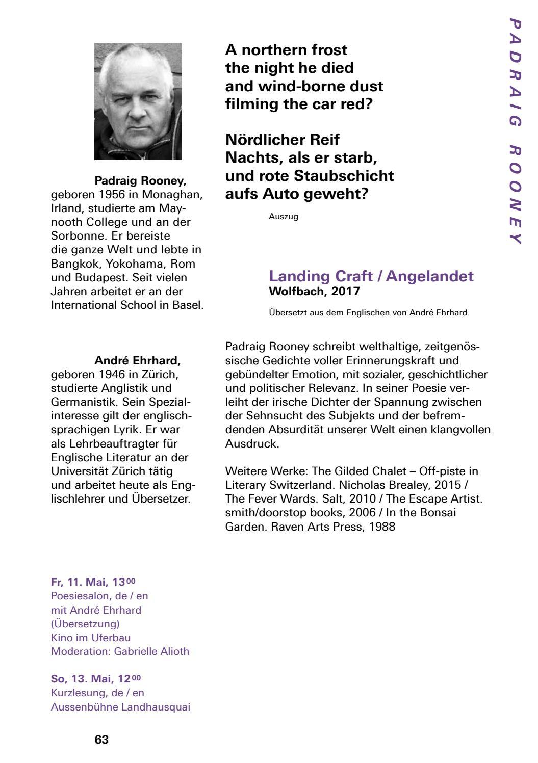 Katalog Der 40 Solothurner Literaturtage By Solothurner