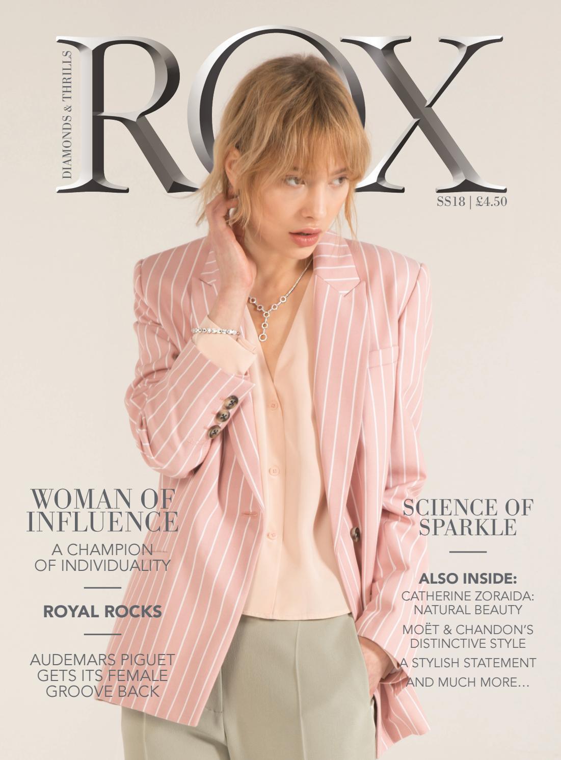 ROX Woman SS18 by ROX - Diamonds & Thrills - issuu