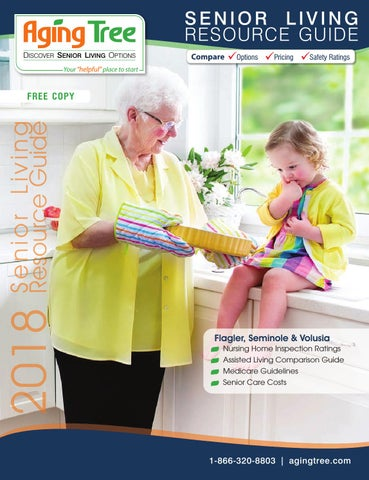 Aging Tree 2018 Family Guide To Senior Care by Aging Tree