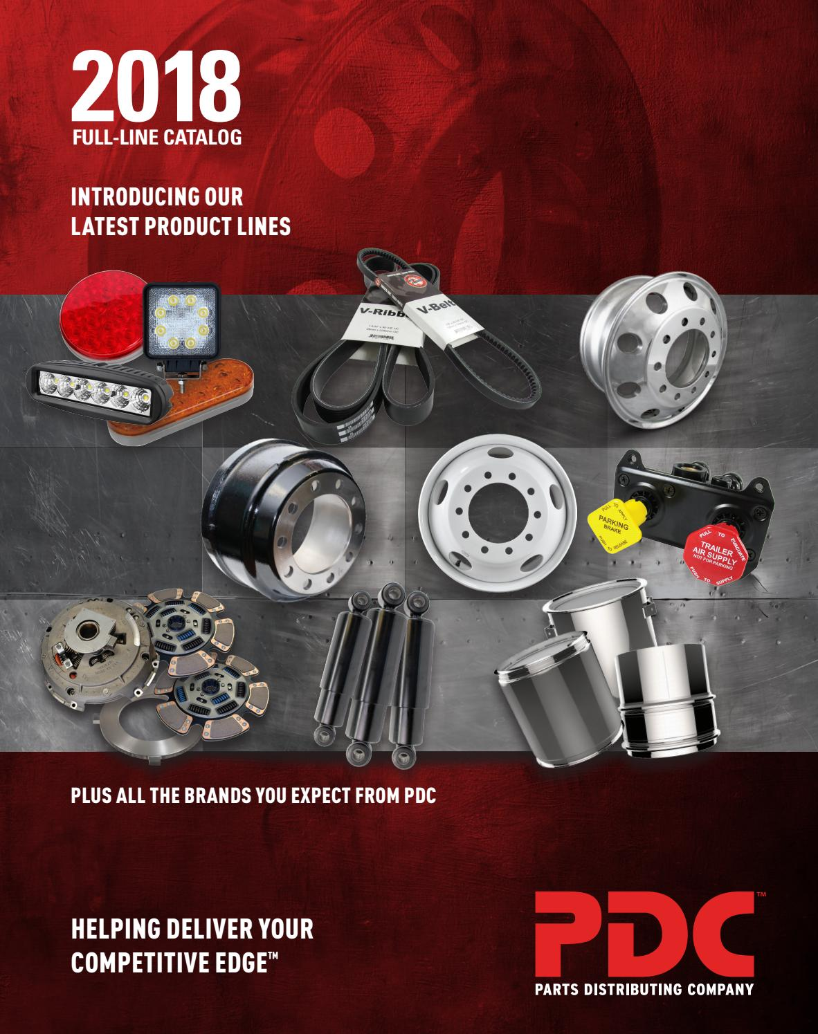 Pdc 2018 Full Line Catalog By Fleetpride21 Issuu Kampampn Filter Udara Toyota Kijang Karburator