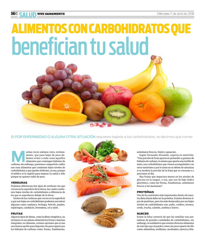 frutas que contienen carbohidratos y proteinas
