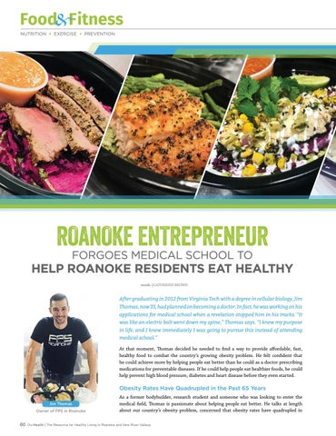"""Page 60 of """"If there's an affordable place to eat with proper portions of healthy food, people won't have to think about it."""""""