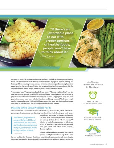 """Page 61 of """"If there's an affordable place to eat with proper portions of healthy food, people won't have to think about it."""""""