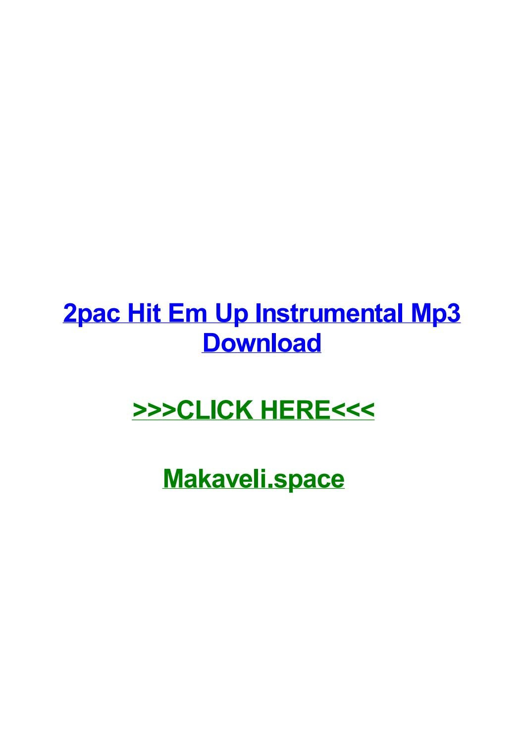 2pac hit em up instrumental mp3 download by shelbyehzk - issuu