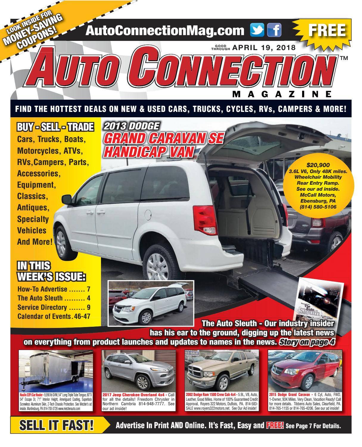 04 19 18 Auto Connection Magazine By Auto Connection
