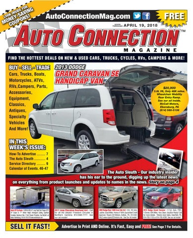 04-19-18 Auto Connection Magazine by Auto Connection