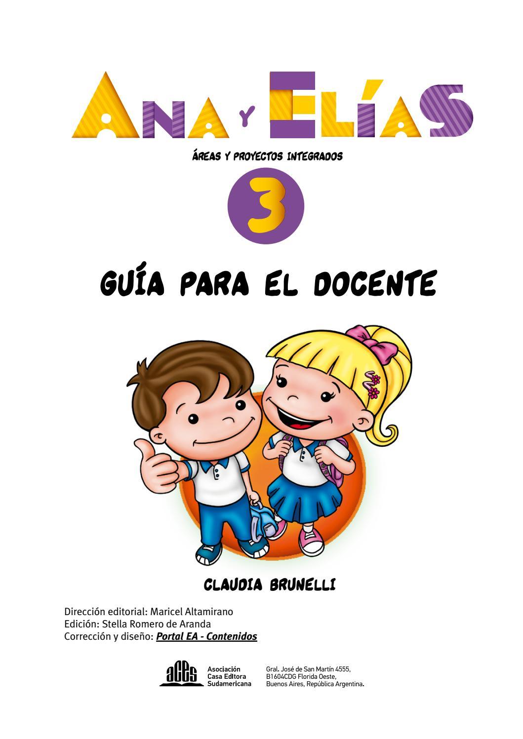 GD - Ana y Elías 3 by Editorial ACES - issuu