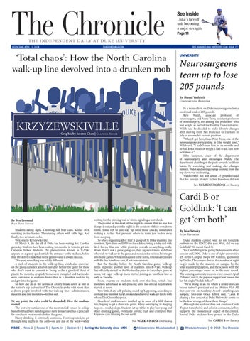 April 11 2018 By Duke Chronicle Issuu