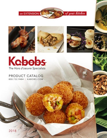Page 1 of Kabobs Full Catalog 2018