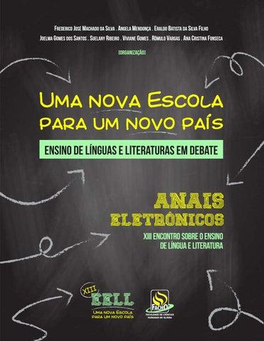 f8bf456cff Uma nova escola para um novo país  ensino de línguas e literaturas ...