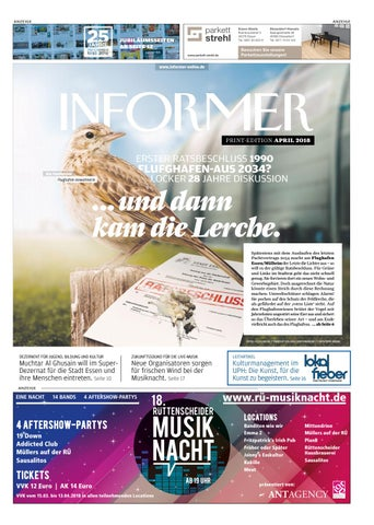 INFORMER APR 2018 by Presse Verlag Ruhr GmbH issuu