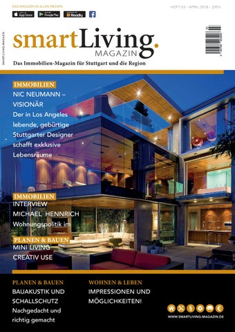 Smartliving Magazin 03 2018 By Status Kommunikation Und Verlag Issuu