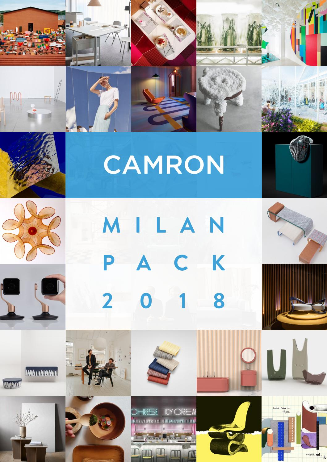 Camron Milan Pack 2018 by Camron PR issuu