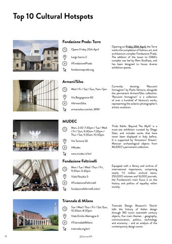 Page 76 of Top 10 Cultural Highlights