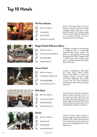 Page 78 of Top 10 Hotels