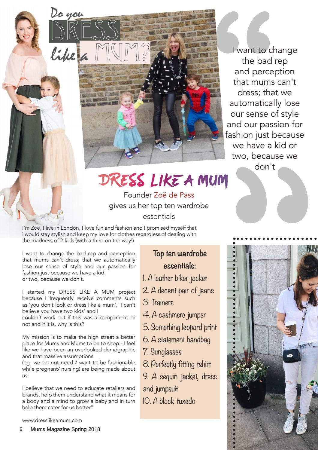 882bb0a553f Mums magazine spring 18 by Lifestyle Magazines - issuu