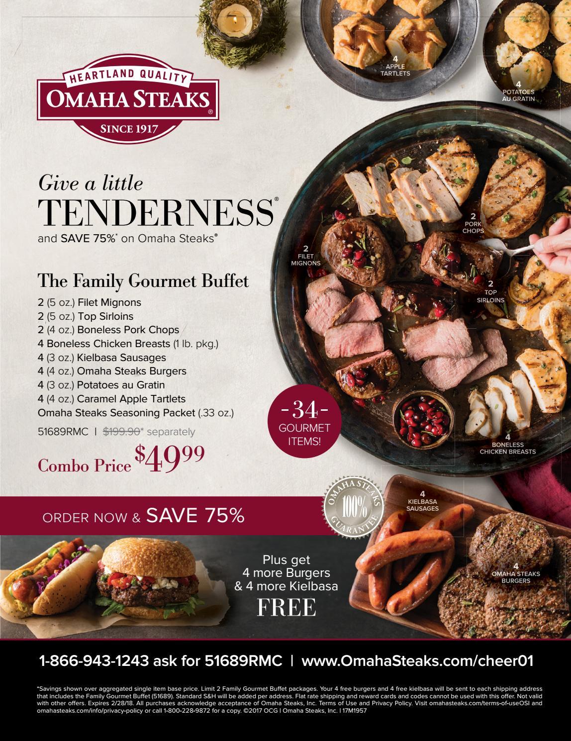 Omaha Steak Apple Tartlet Recipe