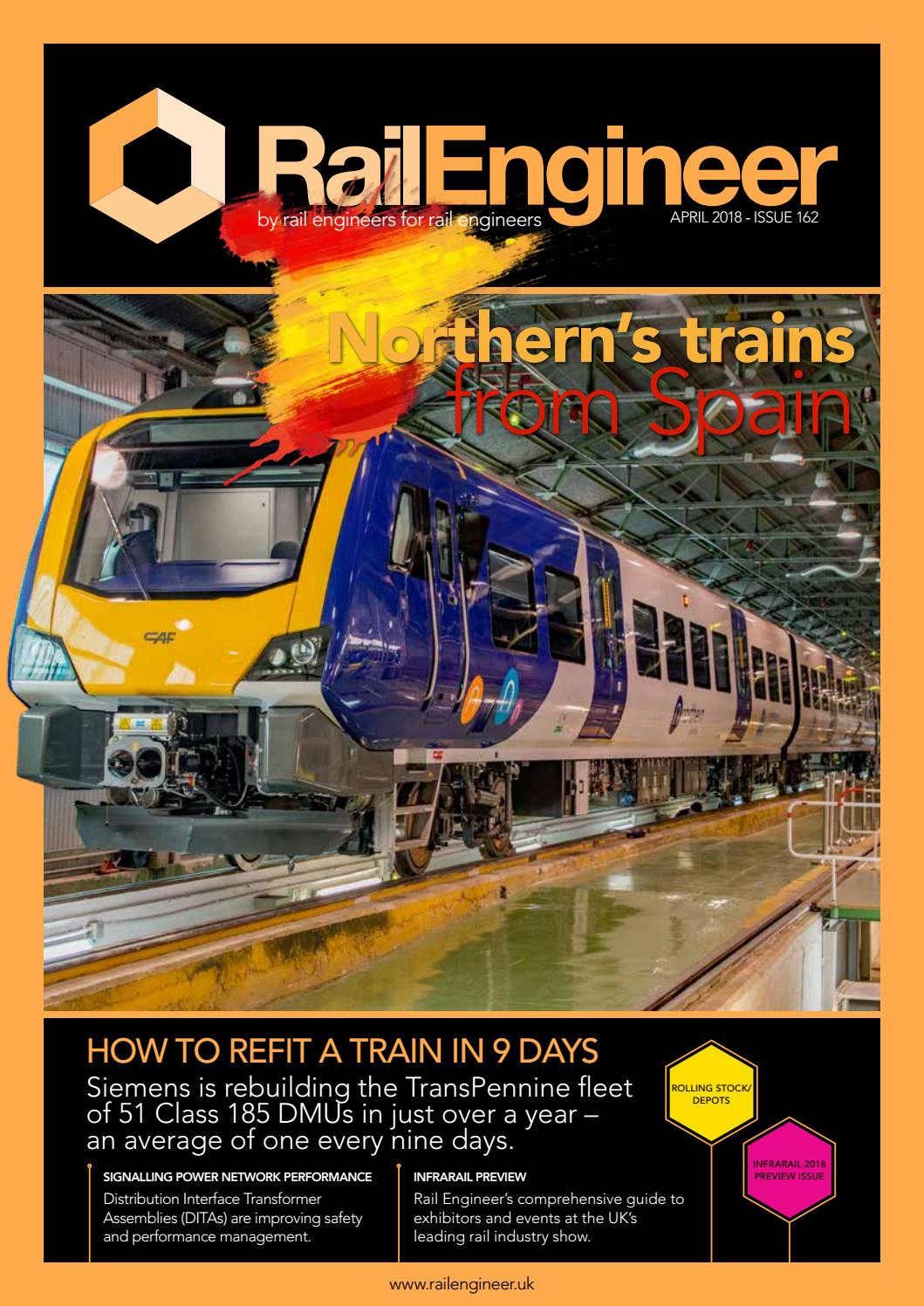 Rail Engineer Issue 162 April 2018 By Media Issuu Christmas Lights Flasher Circuit