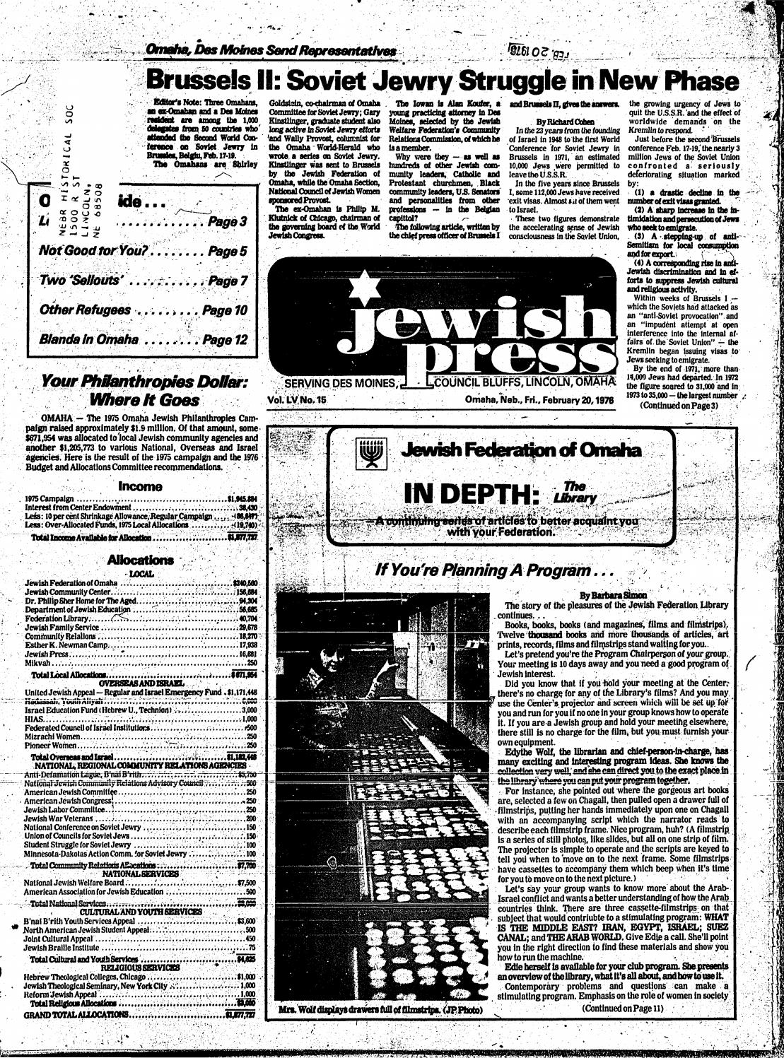 February 20, 1976 by Jewish Press - issuu