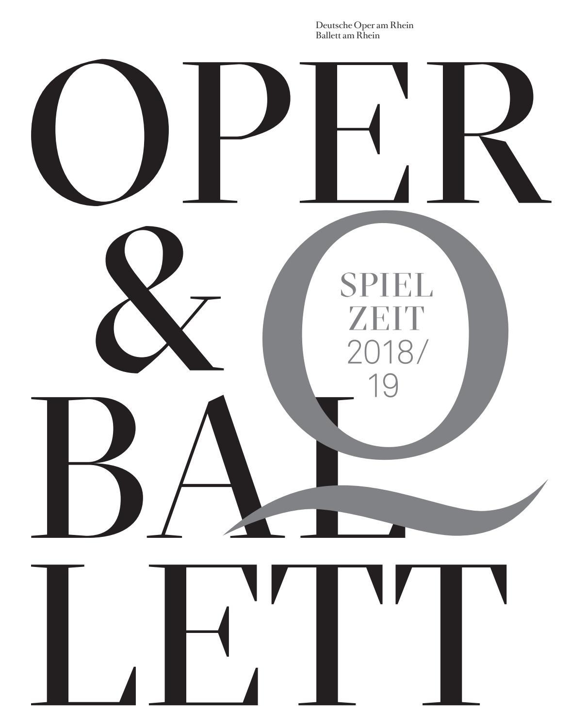 Deutsche Oper am Rhein - Spielzeit 2018/19 by Deutsche Oper am Rhein ...