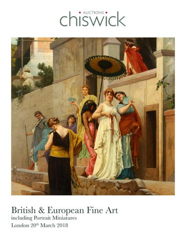 Chiswick Auctions Fine Art Catalogue March 2018 by Chiswick