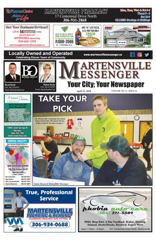 760e09155f7 April 12 digital issue by Martensville Messenger - issuu