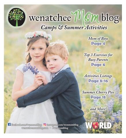Wenatchee Mom Blog Camps & Summer Activities - Summer 2018