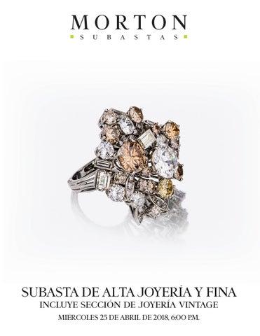 d24291d6f99e SUBASTA DE ALTA JOYERÍA Y FINA incluye sección de joyería vintage MIÉRCOLES  25 DE ABRIL DE 2018