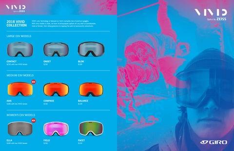 Giro Snow 2018 Catalog by Brendan Murphey - issuu 4edee5d85ca