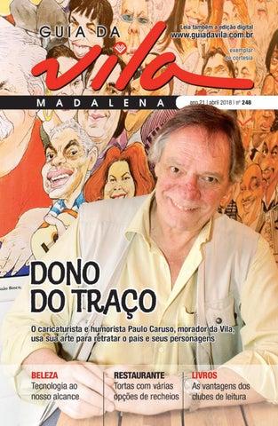fbcc4d84e1b69e Guia da Vila - Edição 248 - Abril de 2018 by Página Editora e ...
