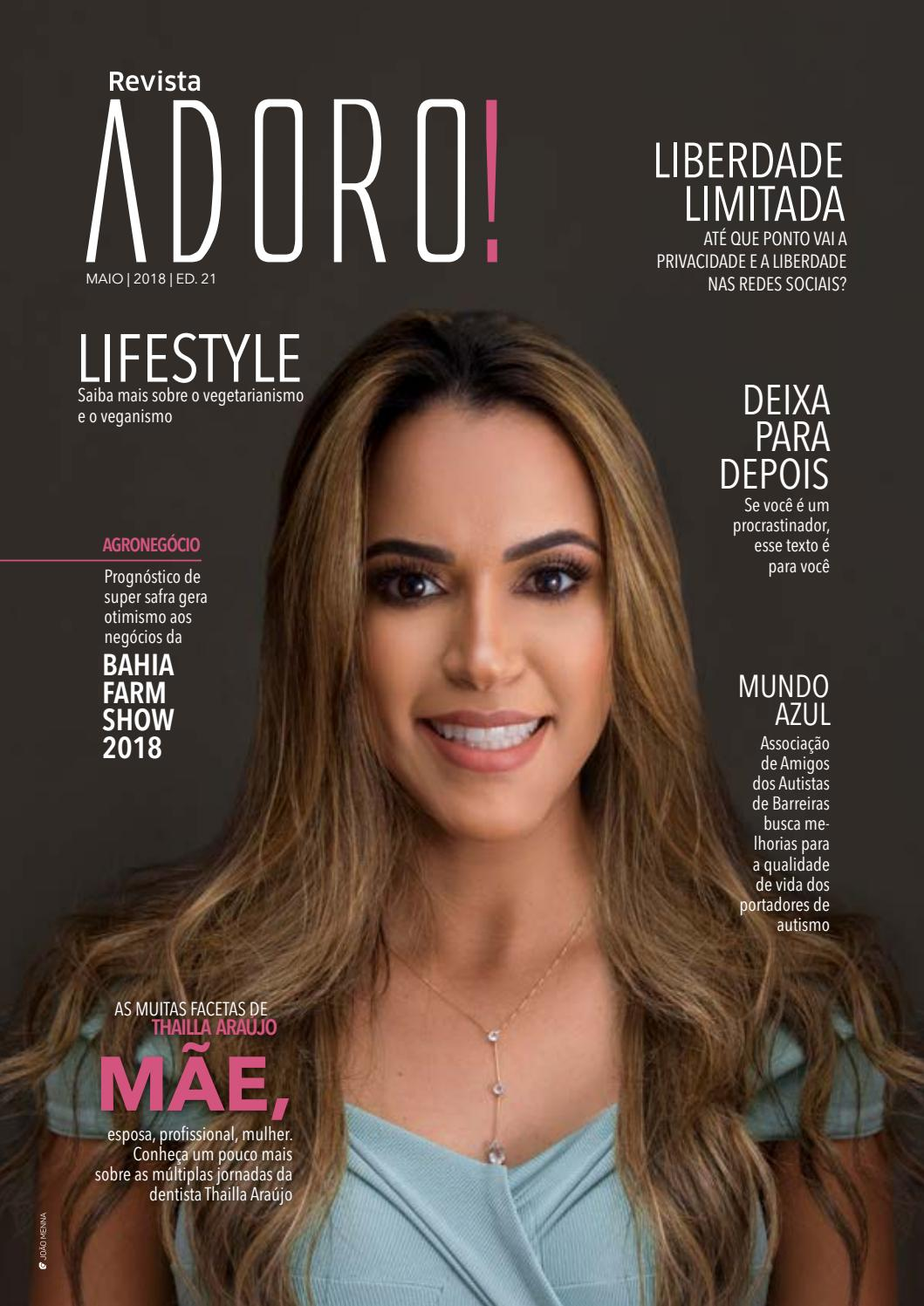 7aca68d6269cb Revista Adoro maio Ed. 21 - 2018 by Adoro Revista - issuu