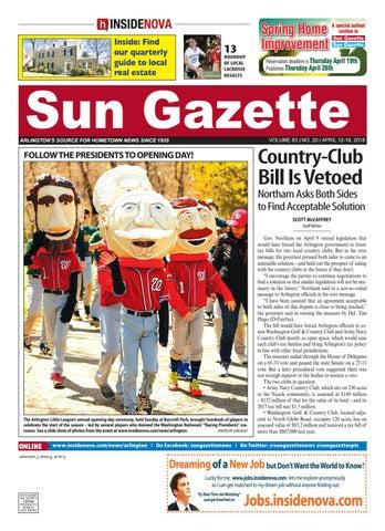 Sun Gazette Arlington April 12 2018 By InsideNoVa