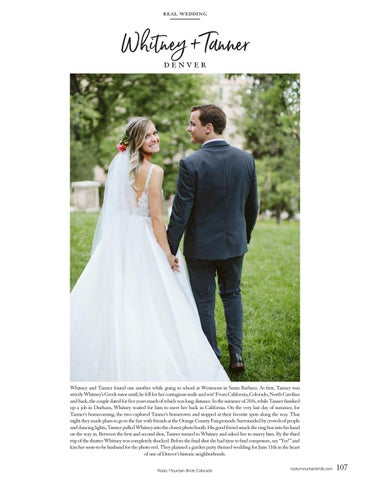 Page 109 of Real Weddings: Whitney + Tanner