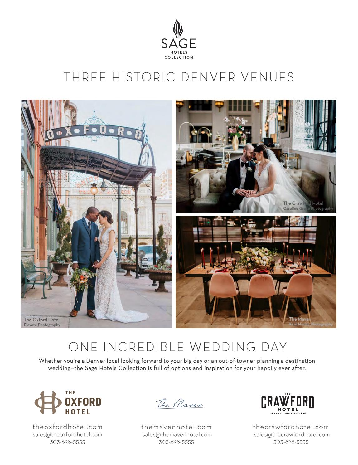 Rocky Mountain Bride Spring & Summer 2018 Colorado by Rocky