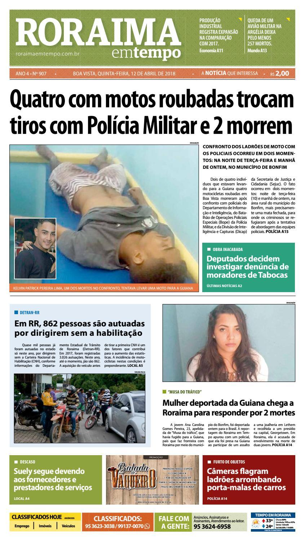Jornal roraima em tempo – edição 907 by RoraimaEmTempo - issuu a6fc48be750