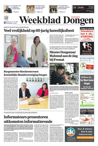 Weekblad Dongen 12 04 2018 By Uitgeverij Em De Jong Issuu