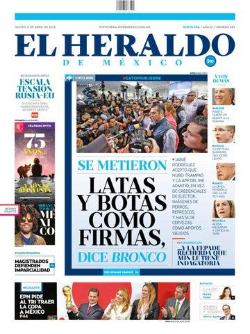 Heraldo 12 de abril by El Heraldo de México - issuu 3198798c4a7