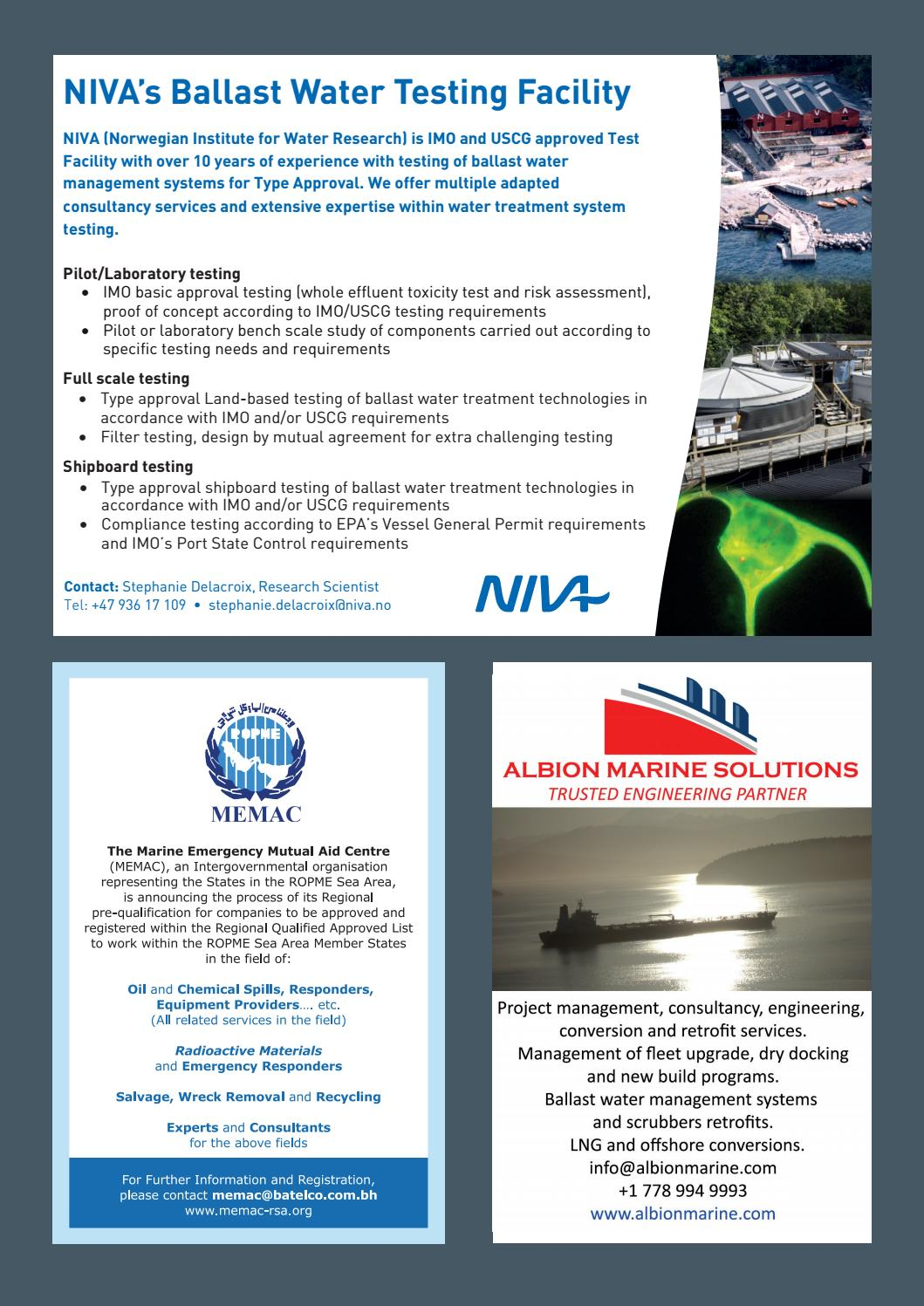 IMO News - Spring Issue - 2018 by IMO News Magazine - issuu