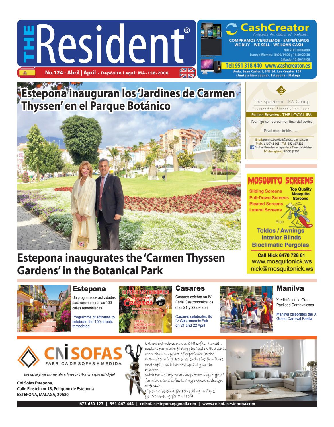 The Resident April 2018 By Manilva Media Workshop Sll Issuu